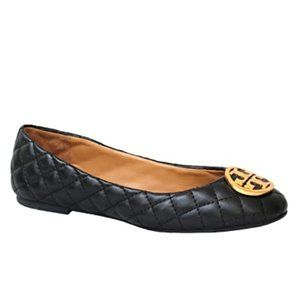 Tory Burch Benton Quilted Napa Leather Ballet Flat